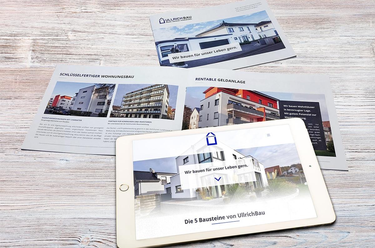 Unsere Onlineagentur aus Kassel entwickelt Unternehmensbroschüren und erstellt ganzheitliche Online-Konzepte.